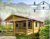 Prefabricated ready made wooden house