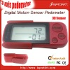 promotional gift pedometer, can print any LOGO YOU WANT
