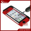 Tempered glass screen protector for iphone 4/4s