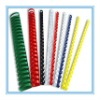 Coloful 21 Rings PVC Comb Binding Material