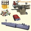 Complex folding and brushing packaging machine