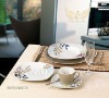 Color glaze porcelain ware dinner sets