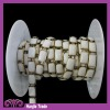 Wholesale Fancy Rwctangle White Metal Chain