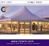 hexagonal showroom tent