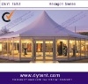 hexagonal showroom tent