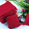chic and hip packing velvet pouch bag