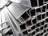 large amount of profiled steel