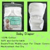 Cotton Baby Cloth Diapers