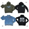 Stock Men's fleece jacket 4styles
