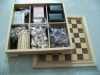 combination game , wooden chess