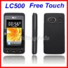 "LC500 Quad Band 3.0"" Free Touch Screen GSM Mobile Phone Dual SIM Card"