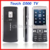 New D500 Mobile Cell Phone Quad Band Bluetooth PDA Dual SIM Card