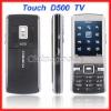 New D500 Mobile Cell Phone Quad Band Bluetooth PDA Dual SIM Card