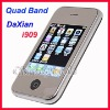 "DaXian i909 Tri Band GSM Mobile Cell Phone 2.8"" Touch Screen Dual SIM GSM GSM"