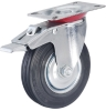 Total brake industrial caster