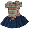 kid's one-piece jean dress -style no.one-piece 6 1071