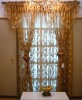 Jacquard curtain with lining/Window curtain