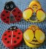 beetle & ladybug chocolate tin