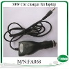 30W Car laptop adapter  with a power wires