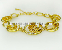 New fashion copper gold-plated bracelet & bangles