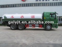 howo sinotruck 6*4 driving new water trucks