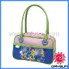 Fancy children hand painted leather handbags
