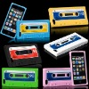 2012 Retro Cassette Tape For iPhone 5 case