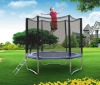 8FT Big Round Jumping Trampoline with safety enclosure and ladder