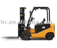 1-3T J Series 4-W electric forklift & battery forklift