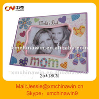Beautiful ceramic photo frame for mother's Day