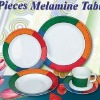 20pcs kid melamine tableware