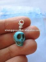 XG-CP105 Turquoise Skull Pendants cheap