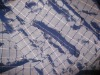 Nylon/Poly Dobby Jacquard Fabric (Two Tone)