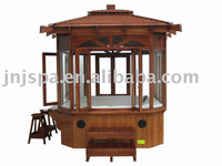 outdoor gazebo /garden spa(can work with spa)