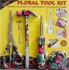 4-Piece Floral Tool Kit (Colors May Vary)