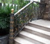 2012 top-selling modern wrought iron handrails outdoor stairs