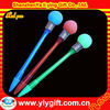 2012 hot sale manufacturer glow in the dark pen with logo printing