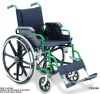 Steel wheelchair with CE FDA TUV