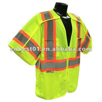 ANSI/ISEA-207-2006 100% polyester safety vests