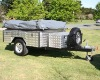 Fully galvanized off road 4x4 camper trailer