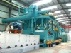 high quality QXY steel plate surface automatic pre-treatment line/steel plate shot blasting cleaning machine