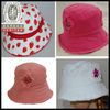 2013 Stone Washed Kids Bucket Hat Cap With Applique Logo