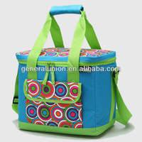 Fashion pretty 600D cooler bag with eco-friendly PEVA