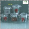 200ml seal pet candy jar