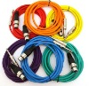 "XLR Female To 1/4"" TRS Color Cables"