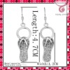 2011 hot selling fashion drop earrings,slipper pendant earrings,designer earrings