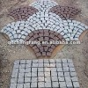 Natural granite cube stone mosaic paving
