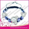 2012 Custom Design Fashion Ladies Jewelry shamballa watch