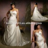 Elegant Sweetheart Asymmetrical A-line Plus Size Wedding Dress