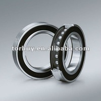 Angular conduct ball bearings